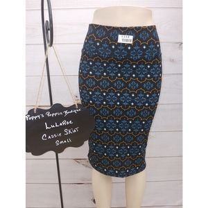 Dresses & Skirts - COPY - Pencil Skirt, Lularoe Cassie, Small